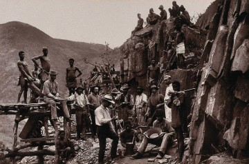 De Kaap Gold Fields South Africa miners of the Republic Go Wellcome V0037925 min 360x238
